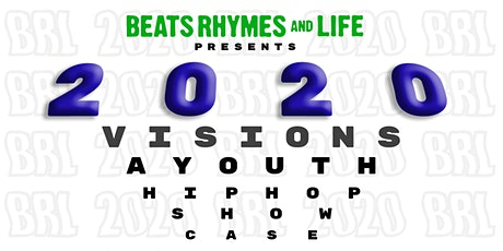 2020 Visions - Youth Hip Hop Therapy Showcase tickets