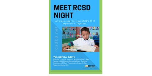 Meet RCSD Night