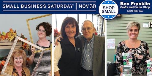 Small Business Saturday, Nov. 30 - Shop Small