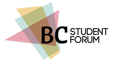 BC Student Forum 2020 tickets