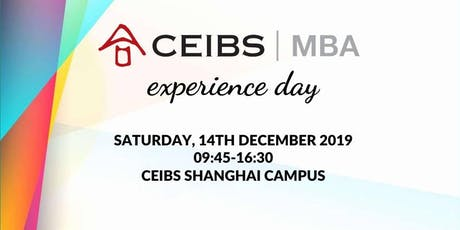 CEIBS MBA Experience Day 2019 tickets