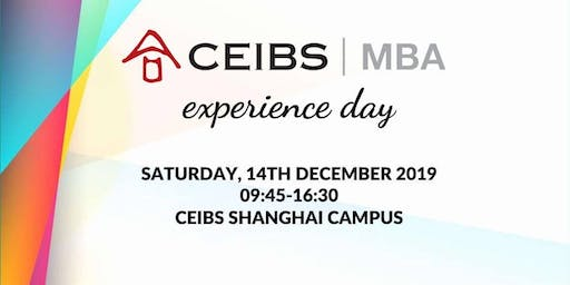 CEIBS MBA Experience Day 2019