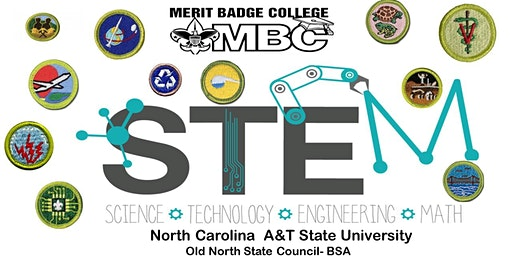 STEM Merit Badge College 2019