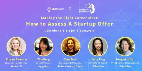 Making the Right Career Move: How to Assess A Startup Offer tickets