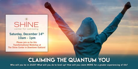 Claiming the Quantum You tickets