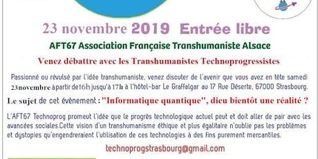 Débat sur le Transhumanisme billets
