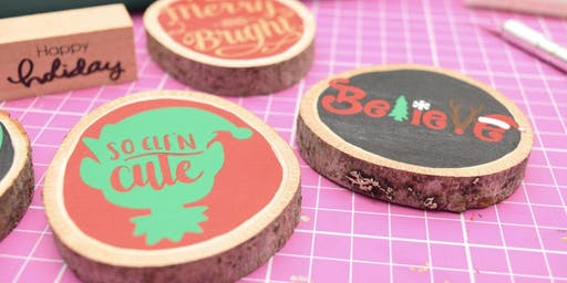 Wood Slice Ornament Make & Take
