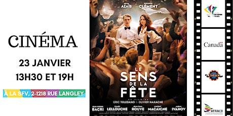 Cinéma I Le Sens de la fête billets