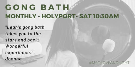Monthly Gong Bath, Holyport tickets