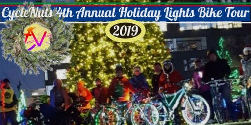CycleNuts' 4th Annual Holiday Lights Bike Tour - Columbus, OH