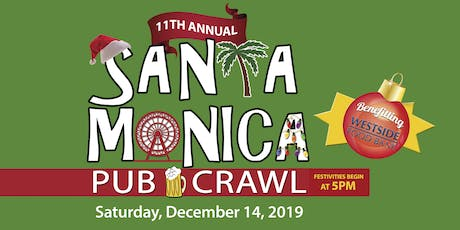 11th Annual SANTA Monica Pub Crawl tickets