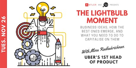 The lightbulb moment: Idea generation and business formation tickets