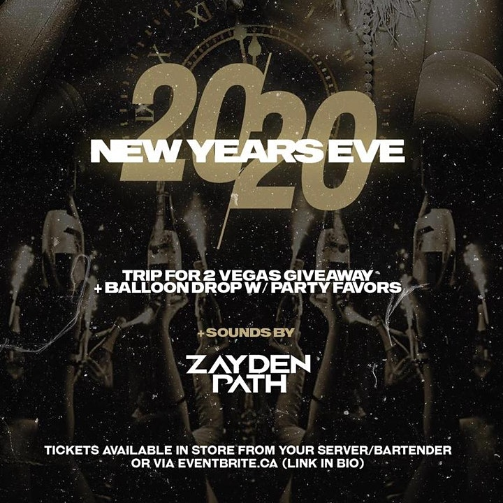 NYE 2020 AT TAPHOUSE COQUITLAM image