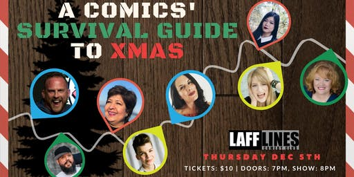 "Laughter Zone 101  ""Comics' Survival Guide to Xmas"""