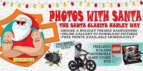 Photos With Santa : The Santa Clarita Harley Way tickets
