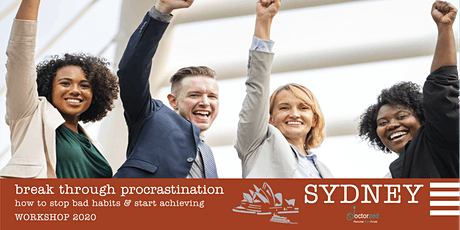 Breaking Through Procrastination: How to Stop Bad Habits & Start Achieving tickets