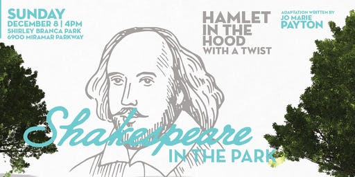 COMMUNITY THEATRE FREE EVENT: SHAKESPEARE IN THE PARK