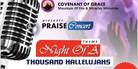 Night of a Thousand Hallelujahs tickets