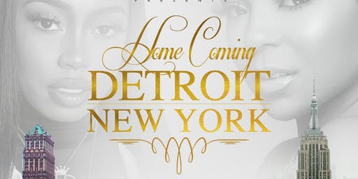 "HomeComing ""So Detroit v. New York Edition"""