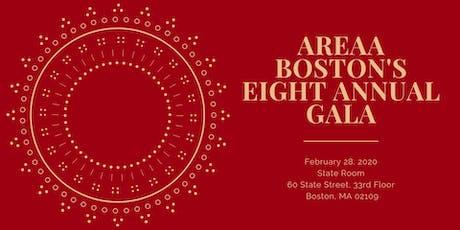 AREAA Boston's 8th Annual Gala tickets