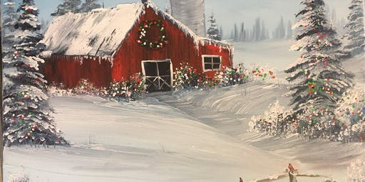 Saturday Paint Party: Christmas in the Country
