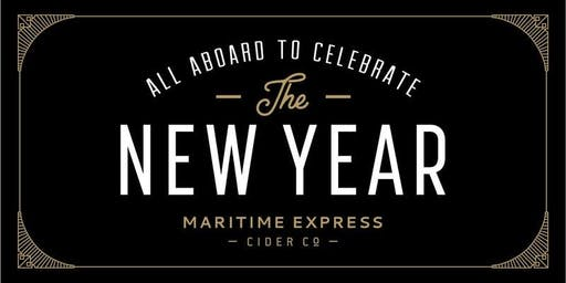 Maritime Express Cider's New Year's Eve Party!