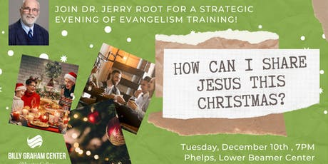 How Can I Share Jesus This Christmas? tickets