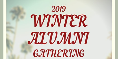 2019 LASIF Winter Alumni Gathering tickets