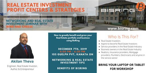 Networking Event & Seminar: Real Estate Investment Profit Centers and Strategies