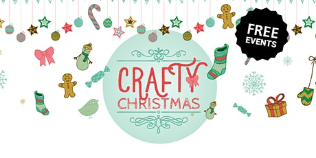 Crafty Christmas - Felt Tree decorations and cards tickets