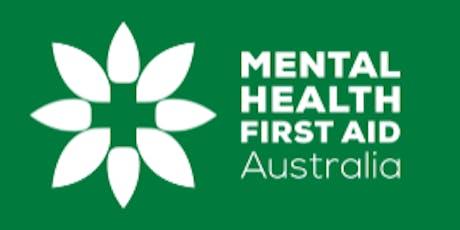 Mental Health First Aid Training (Fernwood) QLD Thurs 30th Jan 2020 tickets