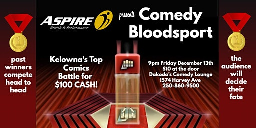 Aspire Health & Performance presents Comedy Bloodsport