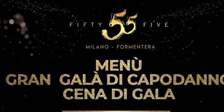 Capodanno 2020 Milano: 55 Fifty Five Milano biglietti