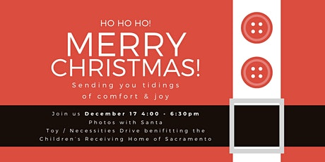 Holiday photo event benefiting the Children's Receiving Home of Sacramento tickets