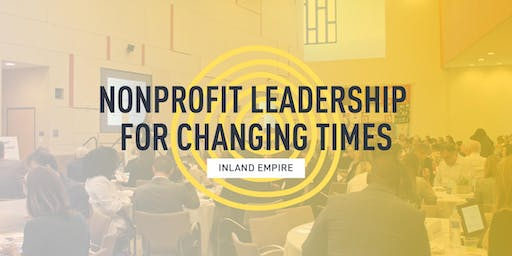 Nonprofit Leadership for Changing Times