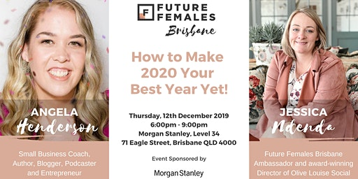 How to Make 2020 Your Best Year Yet! | FF Brisbane