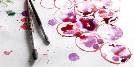 The Coffee Club Sip & Paint Night - Jellyfish tickets