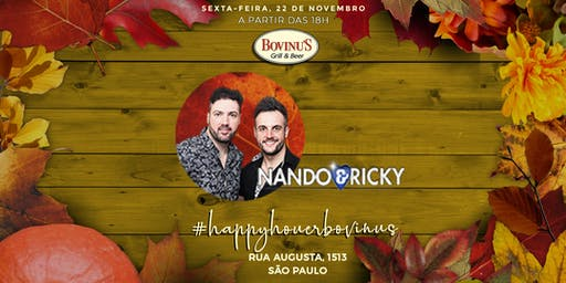 Happy Hour com Nando e Ricky