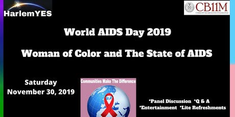 Women of Color and The State of AIDS Symposium tickets
