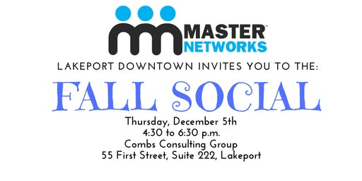 Master Networks, Lakeport Downtown Fall Social