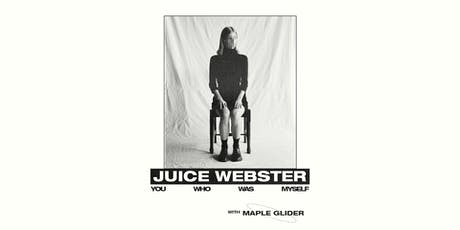 Juice Webster EP Launch 14/12 tickets