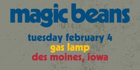 Magic Beans w/ Birdie Pie at Gas Lamp  tickets