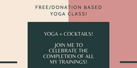 Yoga + Cocktails!  tickets