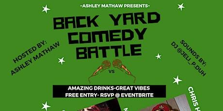 Backyard Comedy Battle tickets