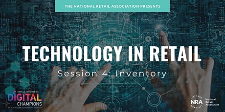FREE WEBINAR | Technology in Retail - Inventory tickets