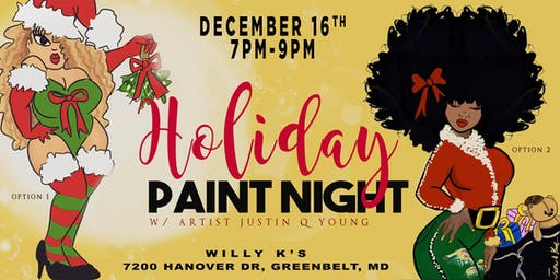 Holiday Paint Night- Greenbelt, MD