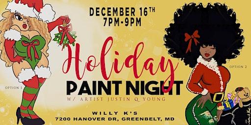 Holiday Paint Night- Greenbelt, MD