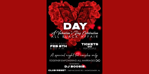 T.E.A.M. Infinity Presents  A Valentine's Day Celebration For Couples