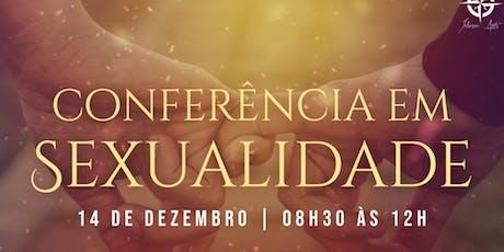 Conferência em Sexualidade ingressos