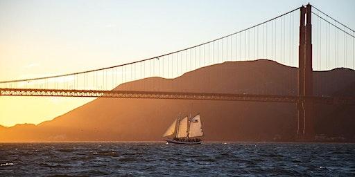 Saturday Sunset Sail on San Francisco Bay - Spring 2020